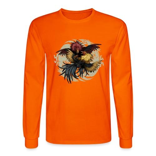 Ying Yang Gallos by Rollinlow - Men's Long Sleeve T-Shirt