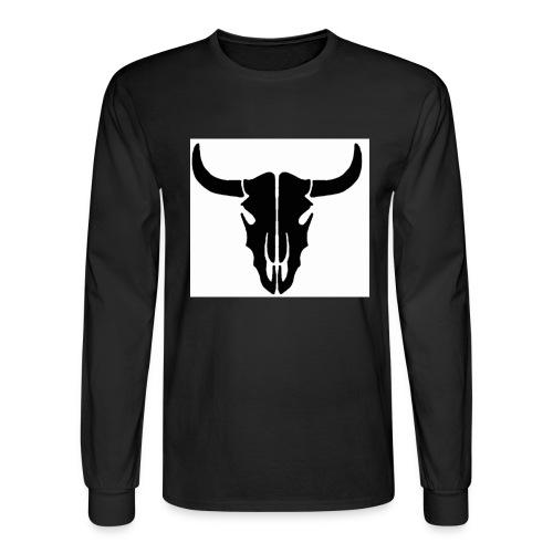 Longhorn skull - Men's Long Sleeve T-Shirt