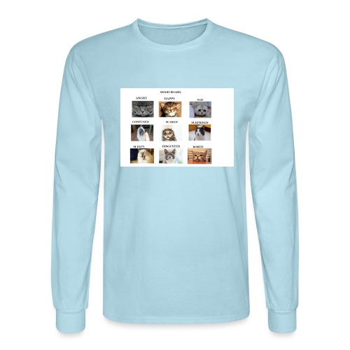 MOOD BOARD - Men's Long Sleeve T-Shirt
