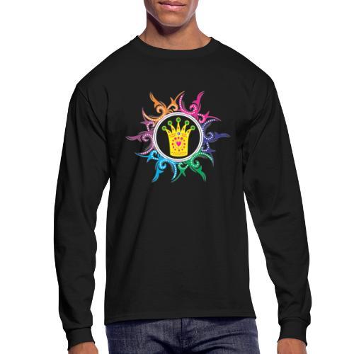 prience logo - Men's Long Sleeve T-Shirt