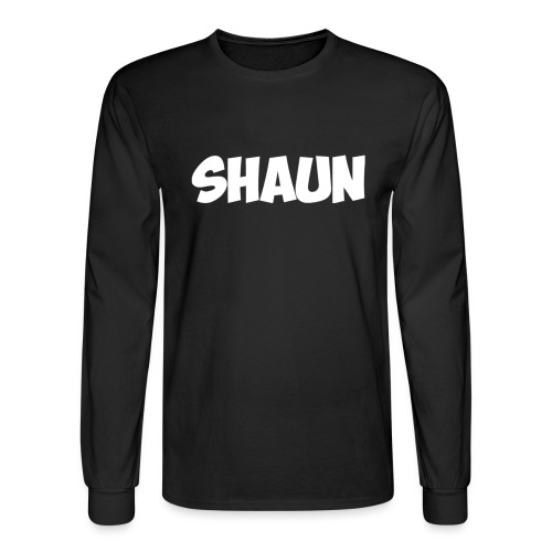 Shaun Logo Shirt - Men's Long Sleeve T-Shirt