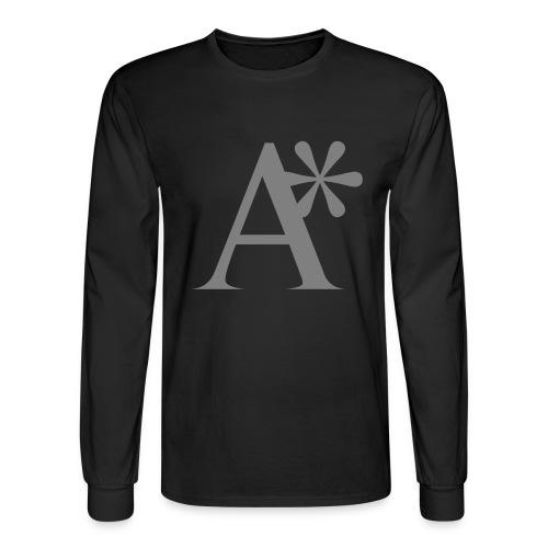A* logo - Men's Long Sleeve T-Shirt