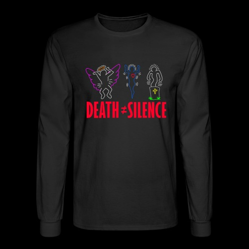 Death Does Not Equal Silence - Men's Long Sleeve T-Shirt