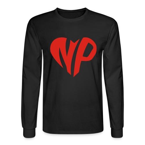 np heart - Men's Long Sleeve T-Shirt