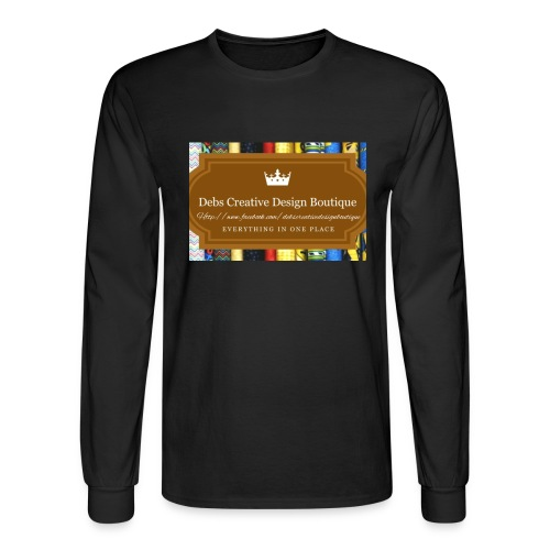 Debs Creative Design Boutique with site - Men's Long Sleeve T-Shirt