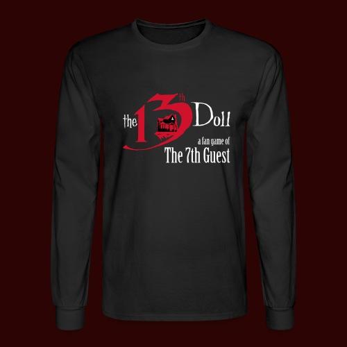 The 13th Doll Logo - Men's Long Sleeve T-Shirt