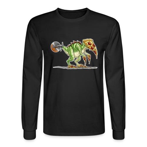 pizzasaurus - Men's Long Sleeve T-Shirt