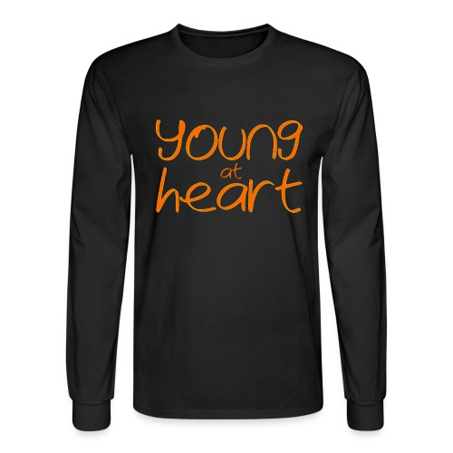 young at heart - Men's Long Sleeve T-Shirt