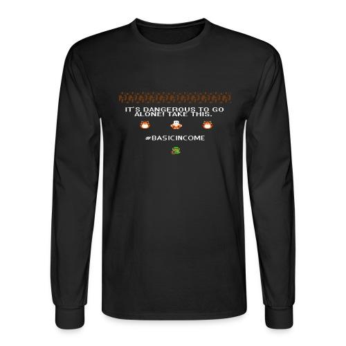 Legend of #Basicincome - Men's Long Sleeve T-Shirt