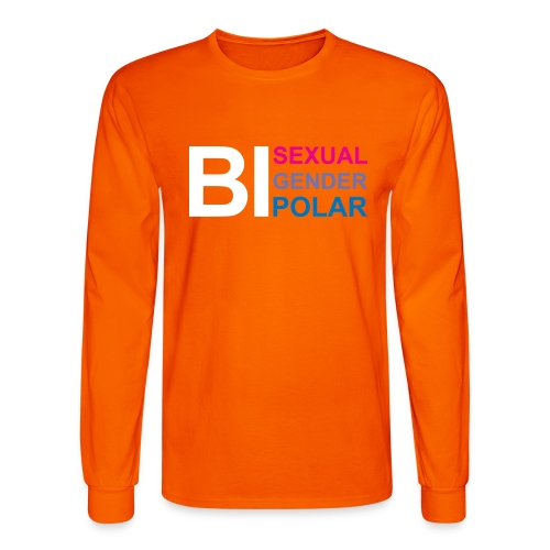 Bi Everything (dark shirts) - Men's Long Sleeve T-Shirt