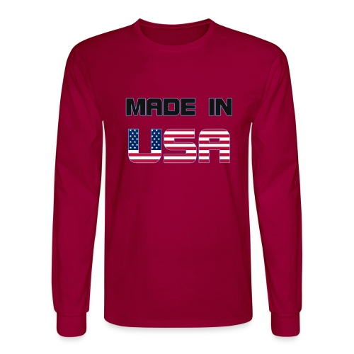 Made in USA - Men's Long Sleeve T-Shirt
