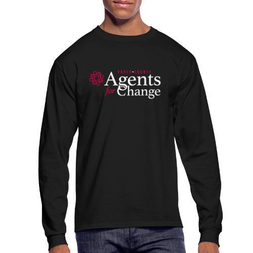 pascoagentsforchange logo - Men's Long Sleeve T-Shirt