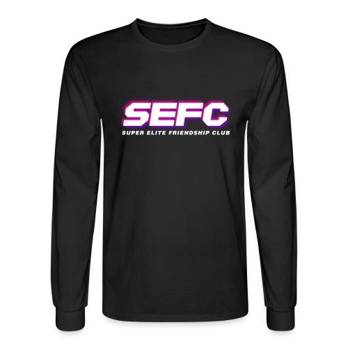 Super Elite Friendship Club Logo Vapor v2 - Men's Long Sleeve T-Shirt