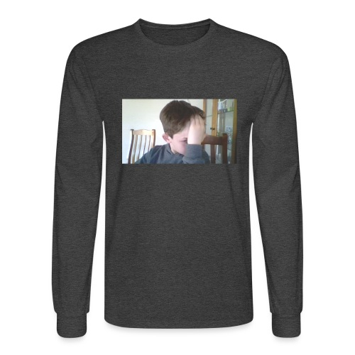 Luiz FAce!! - Men's Long Sleeve T-Shirt