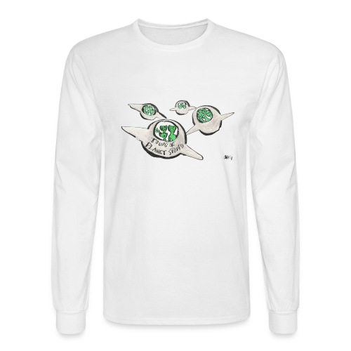 Tours of Planet Stupid - Men's Long Sleeve T-Shirt
