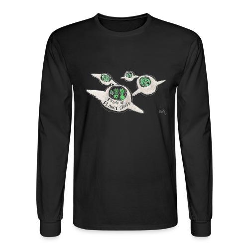 Tours of Planet Stupid - Men's Long Sleeve T-Shirt