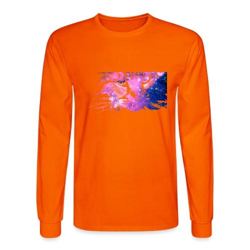 Cat Galaxy - Men's Long Sleeve T-Shirt