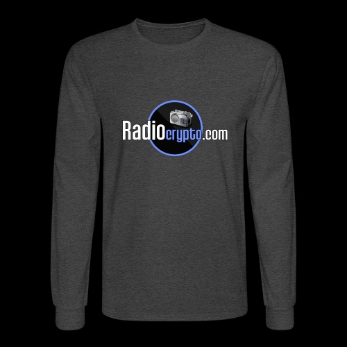 RadioCrypto Logo 1 - Men's Long Sleeve T-Shirt