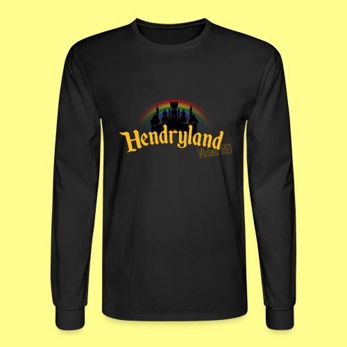 HENDRYLAND logo Merch - Men's Long Sleeve T-Shirt
