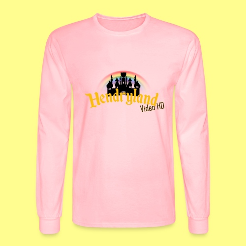 HENDRYLAND logo Merch - Men's Long Sleeve T-Shirt