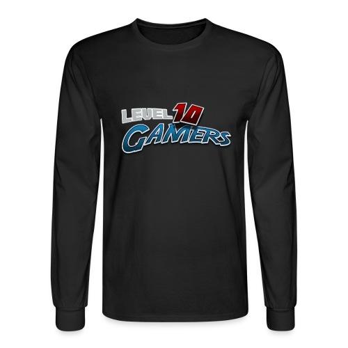 Level10Gamers Logo - Men's Long Sleeve T-Shirt