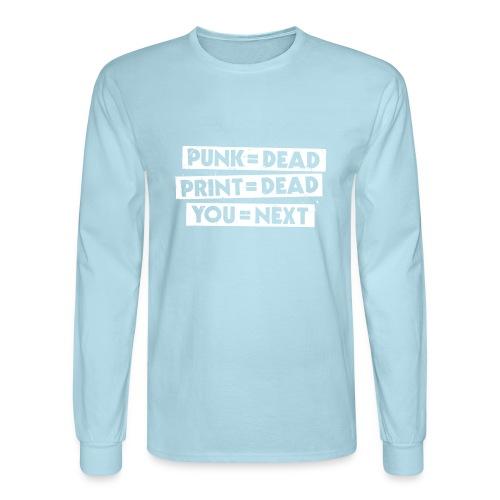 You = Next - Men's Long Sleeve T-Shirt