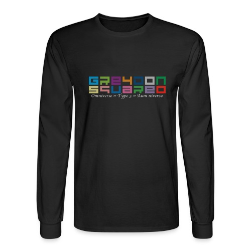 colorfulLOGO2 png - Men's Long Sleeve T-Shirt