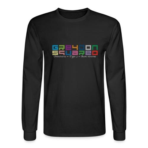 colorfulLOGO2 png - Men's Long Sleeve T-Shirt