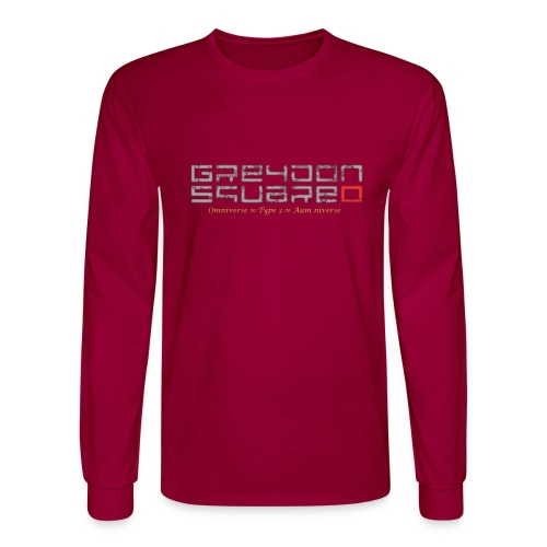 Greydon Square Blue & Gold - Men's Long Sleeve T-Shirt