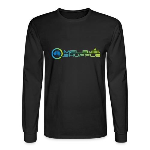 Melbshuffle Gradient Logo - Men's Long Sleeve T-Shirt