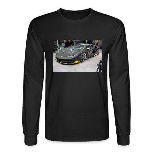 Lamborghini Centenario front three quarter e146585 - Men's Long Sleeve T-Shirt