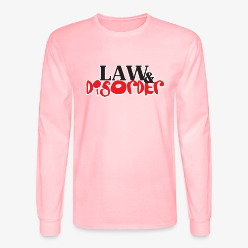 Law DISORDER Logo - Men's Long Sleeve T-Shirt