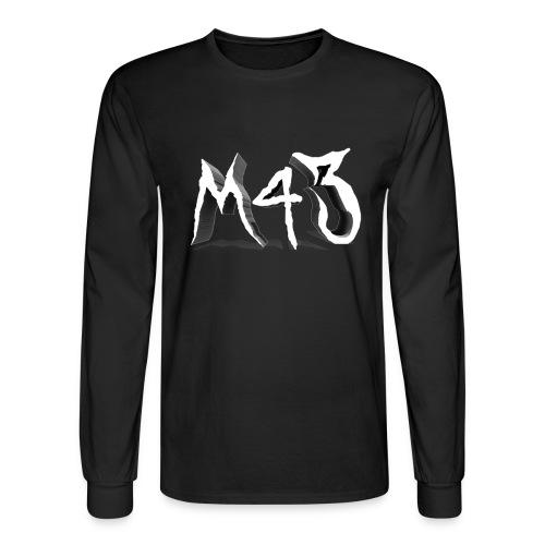 M43 Logo 2018 - Men's Long Sleeve T-Shirt