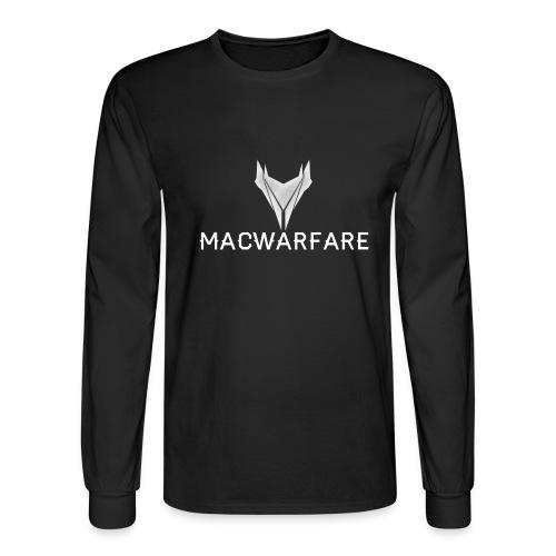 MacWarfare Channel Logo - Men's Long Sleeve T-Shirt