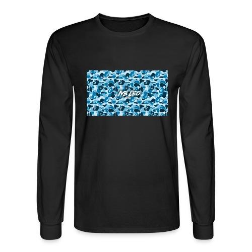 Iyb leo bape logo - Men's Long Sleeve T-Shirt