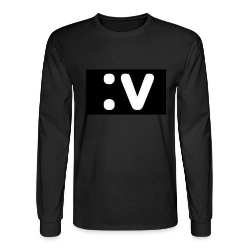 LBV side face Merch - Men's Long Sleeve T-Shirt
