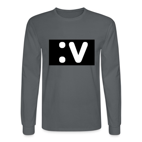 LBV side face Merch - Men's Long Sleeve T-Shirt