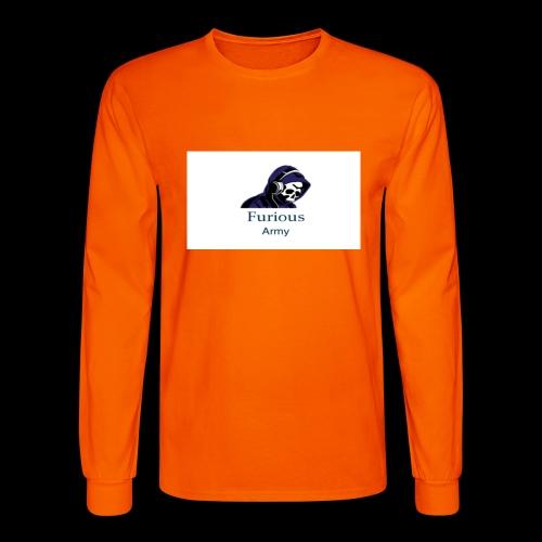 savage hoddie - Men's Long Sleeve T-Shirt
