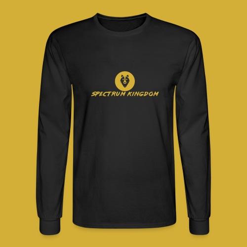 Spectrum Kingdom Gold Logo - Men's Long Sleeve T-Shirt