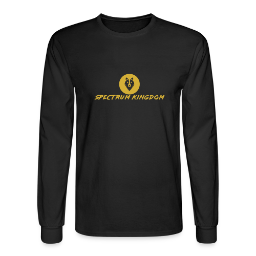 Spectrum Kingdom Gold Logo - Men's Long Sleeve T-Shirt