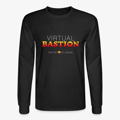 Virtual Bastion: For the Love of Gaming - Men's Long Sleeve T-Shirt