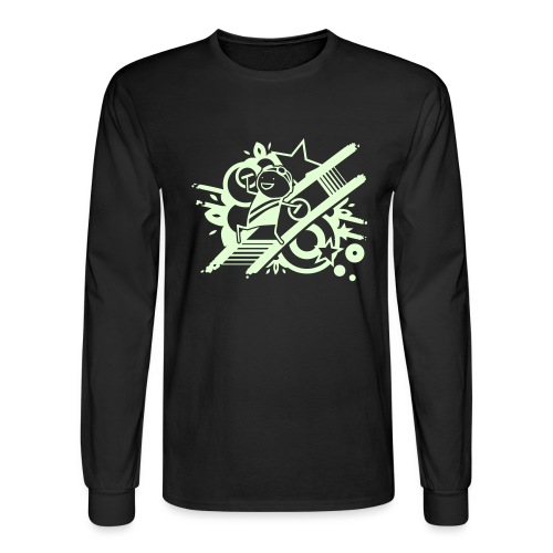 Glowing Raver - Men's Long Sleeve T-Shirt