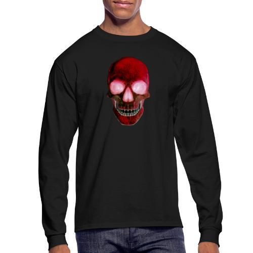 Red Skull - Men's Long Sleeve T-Shirt