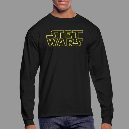 Stet Wars - Men's Long Sleeve T-Shirt