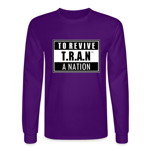 TRAN PA jpg - Men's Long Sleeve T-Shirt