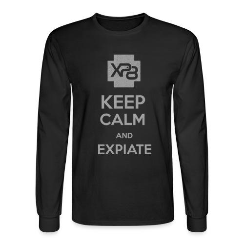 Keep Calm XP8 - Men's Long Sleeve T-Shirt