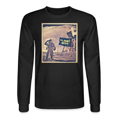 One Small Sip For Man - Men's Long Sleeve T-Shirt