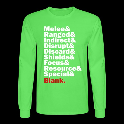 Discard to Reroll - Sides of the Die - Men's Long Sleeve T-Shirt
