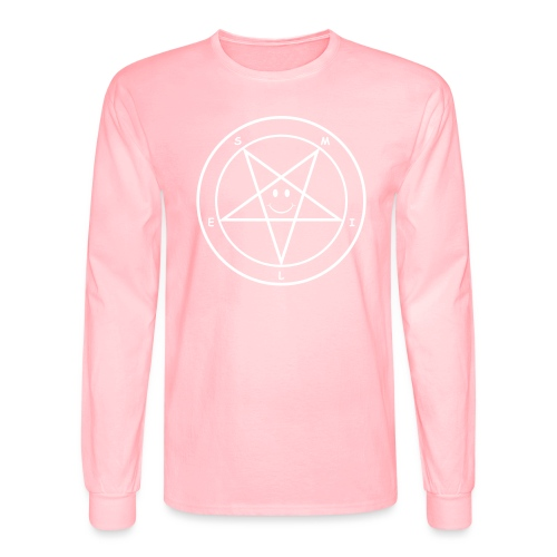 Smile Pentagram - Men's Long Sleeve T-Shirt