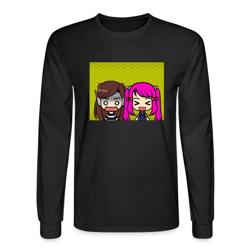 Phone case merch of jazzy and raven - Men's Long Sleeve T-Shirt